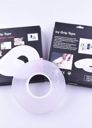 Многоразовая крепежная лента Ivy Grip Tape 3m