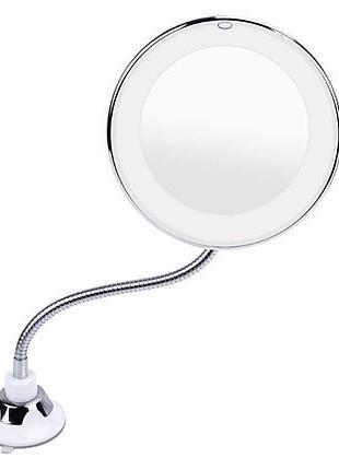 Зеркало для макияжа с LED подсветкой ULTRA FLEXIBLE MIRROR