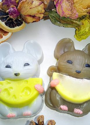"""Мыло """"Мышка с сыром"""""""