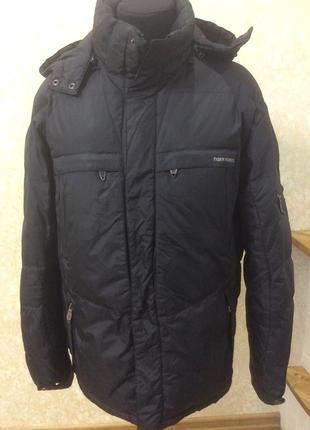 Куртка пуховик черная tiger torce