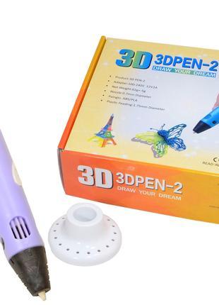 3D-ручка с экраном 3DPen-2 с Эко Пластиком PLA (9 метров ) 3Д ...
