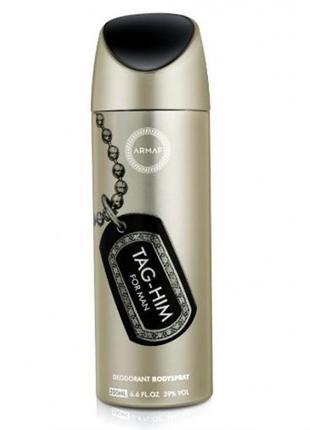 Vanity Femme Tag-Him for men Body Spray 200 ml