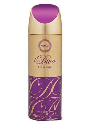 Vanity Femme iDiva for women Body Spray 200 ml