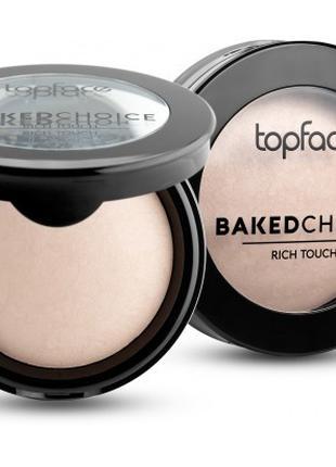 Пудра запеченная Topface Baked Choice PT701 №01 Natural