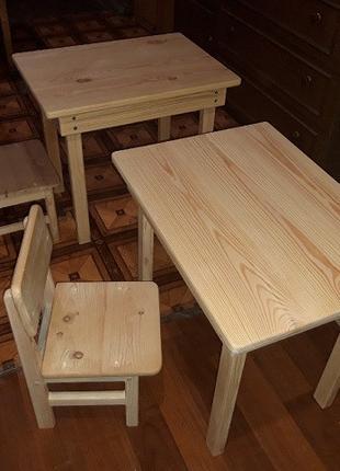 Детский деревянный столик 70х45