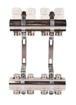 """Колектор терморегулювальний SD Forte 1"""" на 9 виходів"""