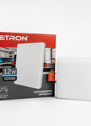 Светильник светодиодный ETRON Decor 1-EDP-655 12W 5000К ІР20 к...