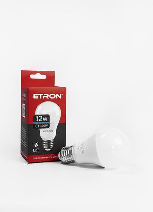 LED лампа ETRON Light 1-ELP-093 A60 12W 6500K E27