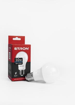 LED лампа ETRON Light 1-ELP-094 A60 10W 6500K E27