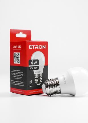 LED лампа ETRON Light 1-ELP-050 G45 4W 4200K 220V E27