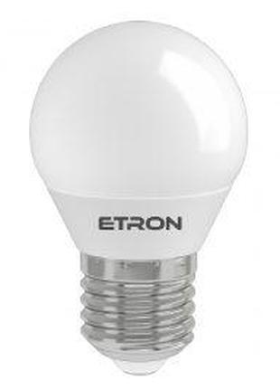 LED лампа ETRON Power Light 1-EPL-844 G45 10W 4200K 220V E14