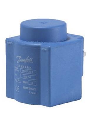Котушки для електромагнітних клапанів Danfoss BB230AS (018F7351)