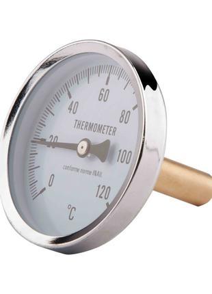 """Термометр SD Plus 120ºC 63х1/2"""", заднє підмикання"""