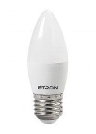 LED лампа ETRON Power Light 1-EPL-823 C37 10W 3000K 220V E14