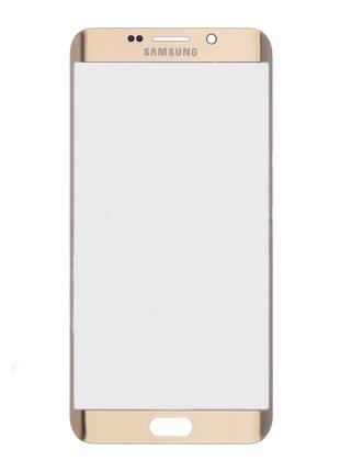 Стекло для переклейки Samsung G928F Galaxy S6 Edge Plus (Gold)...