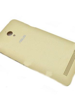 Задняя крышка для Asus ZenFone Go (ZC500TG) (Gold) Original