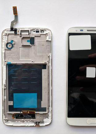 Дисплейный модуль в рамке для LG D800 G2 (D801, D803) (White) ...