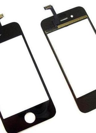 Тачскрин (сенсор) для iPhone 4 (iPhone 4S) (Black) Качество