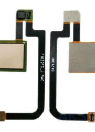 Шлейф со сканером для Xiaomi Mi Max 2 (Gold) Original
