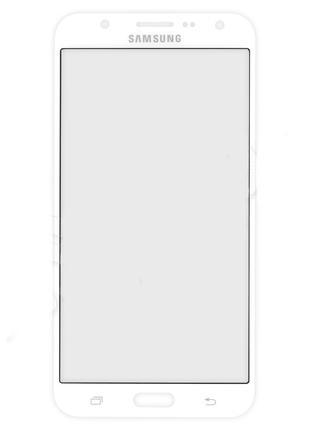 Стекло для переклейки Samsung J710F Galaxy J7 (2016) (White) К...