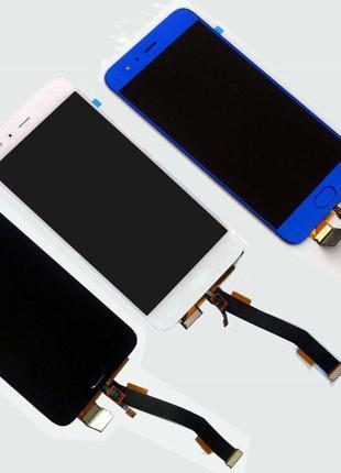 Дисплейный модуль (со сканером) для Xiaomi Mi6 (Blue) Original