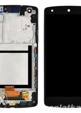 Дисплейный модуль в сборе с рамкой для LG Google Nexus 5 D821 ...
