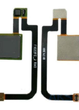 Шлейф со сканером для Xiaomi Mi Max 2 (Black) Original