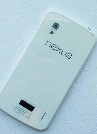Задняя крышка для LG E960 Nexus 4 (White) Качество