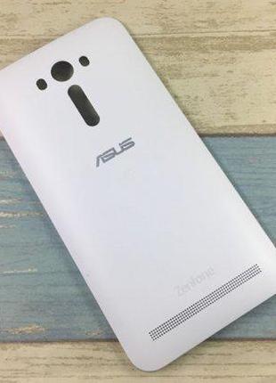 Задняя крышка для Asus ZenFone 2 Laser (ZE550KL) (White) Original