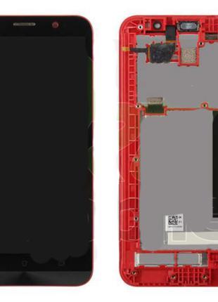 Дисплейный модуль в рамке для Asus Zenfone 2 (ZE551ML, Z00AD, ...
