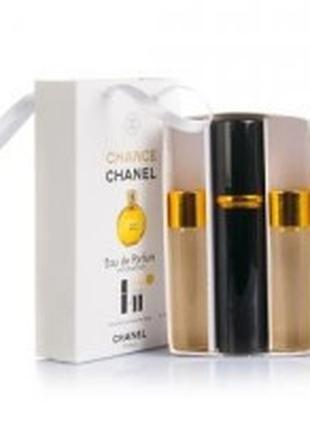 Chanel Chance edp 3x15ml - Trio Bag