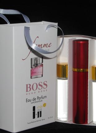 Hugo Boss Femme edp 3x15ml - Trio Bag