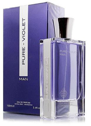 Fragrance World Pure-Violet Man edp 100ml