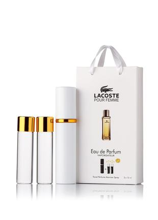 Lacoste Pour Femme edp 3x15ml - Trio Bag