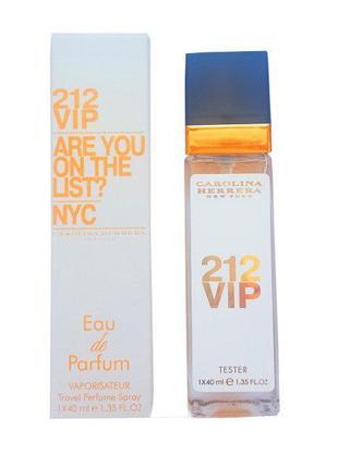 Carolina Herrera 212 Vip - Travel Perfume 40ml