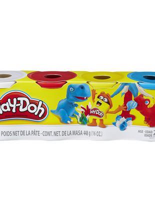 Игровой набор Play-Doh PD 4 баночки (B5517_B6508)