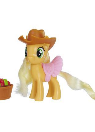 Игровой набор Hasbro My Little Pony Епплджек з аксессуарами (E...