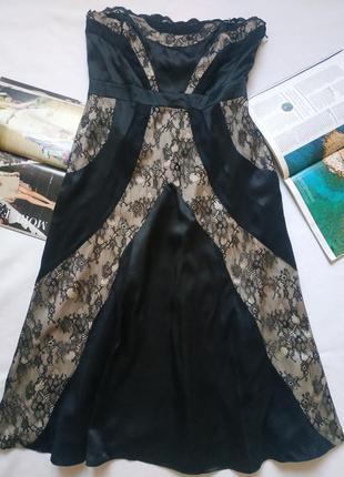"""Вечернее длинное платье с кружевом """"oasis"""""""