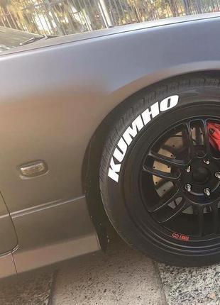 Cтикеры на шины KUMHO R15