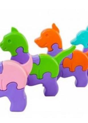 3Д Пазлы для малышей, Tigres 39356, для детей от 1 года