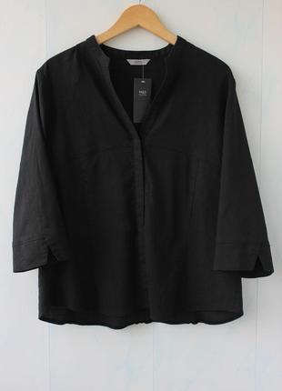 Льняная блуза marks & spencer