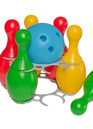 Боулинг детский пластиковый, ТехноК 2919, для детей от 1 года,...
