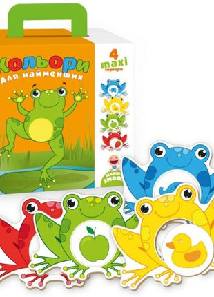 Развивающая игра-сортер Цвета, VT2904-04, для детей от 1 года