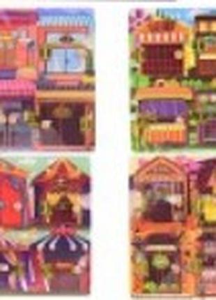 Деревянный бизиборд Дверцы WD1971 от 1 года, Игрушки для детей...