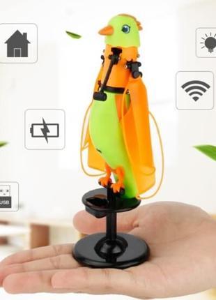 Летающая индукционная игрушка Птичка, CX-51, для детей от 3 ле...
