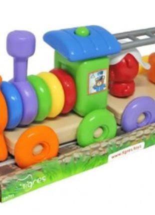 Развивающая игрушка Поезд Fanny Train, 39771, для детей от 1 года