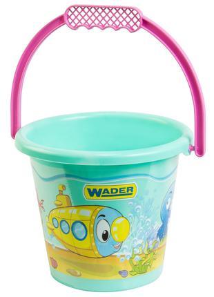Ведерко для песка детское пластиковое, 39022, для детей от 1 года