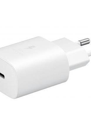 Зарядное устройство Samsung EP-TA800XWEGRU 25W PD3.0 Type-C (W...