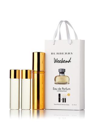 Burberry Weekend for Women edp 3x15ml - Trio Bag