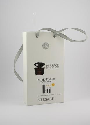 Versace Crystal Noir edp 3x15ml - Trio Bag